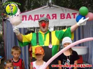 Клоун на детский праздник