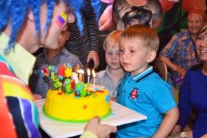 День рождения ребенка в дет. саду