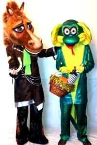 Чудо-Юдо и Конь в пальто